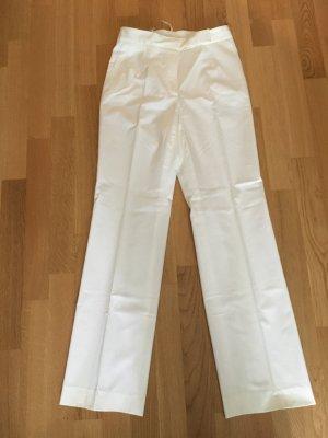 Jil Sander Pantalón tipo suéter blanco