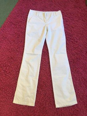 Laurèl Pantalon à pinces blanc