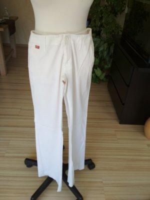 weiße Hose von Miss Sixty mit langem Bein