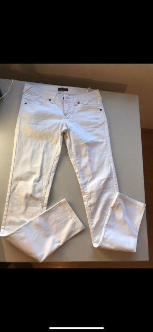 Only Low-Rise Trousers white