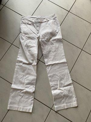 Street One Pantalón de campana blanco