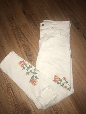 Weiße Hose von Topshop