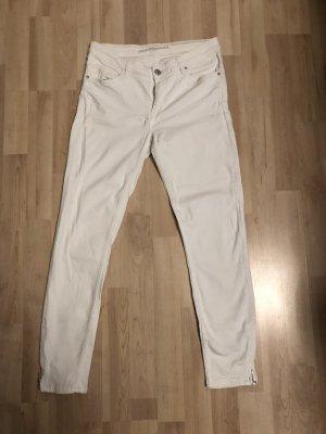 Weiße Hose von Zara