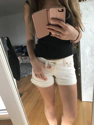 Weiße Hot pants, von Castro Größe 34