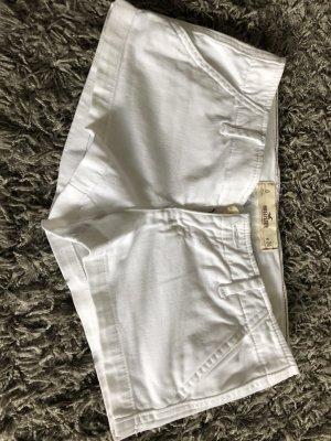 Weiße Hot Pants von Hollister