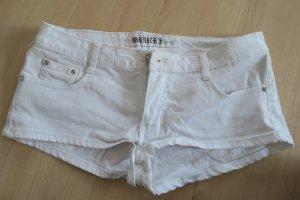 Pantalón corto blanco-blanco puro