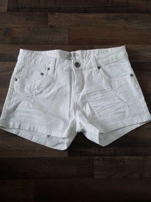 weiße Hotpants esmara