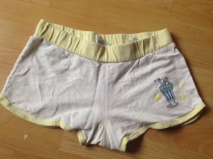 Weiße Hotpants Größe 164