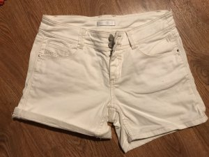 Weiße Hotpants Shorts von Promod, Größe 36