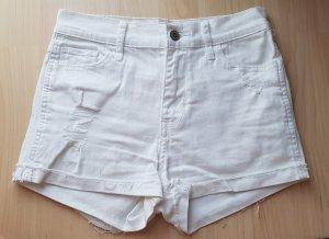 Weiße Hotpants von Hollister