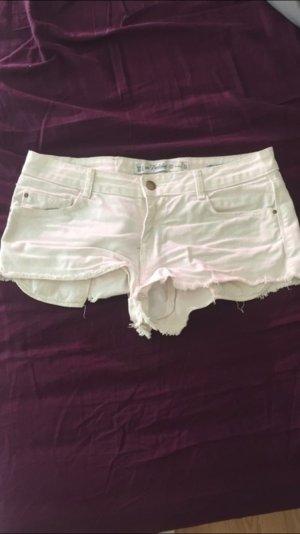 Weiße Hotpants von Zara