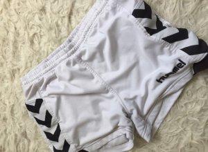Weiße Hummel Sporthose