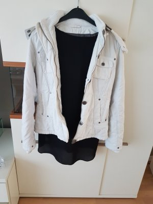 weiße Jacke M