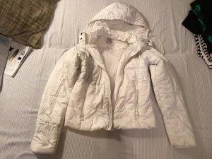 Adidas Chaqueta con capucha blanco