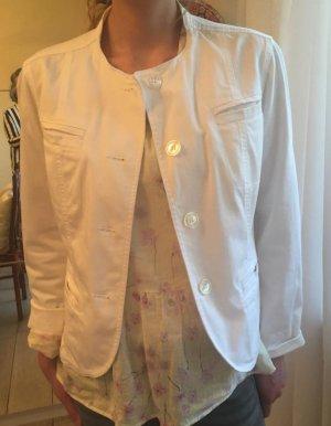 Weiße Jacke von Bogner Gr. 38