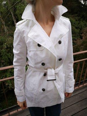 Zara Veste blanc coton