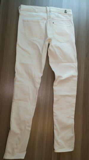 weiße Jean