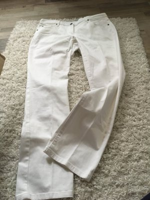 Weiße Jeans