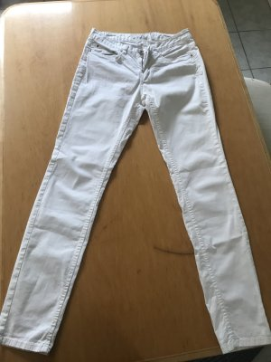H&M Stretch Jeans white