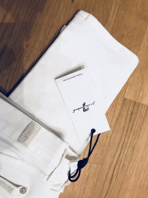 Weiße Jeans, 7 for all Mankind