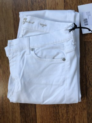 7 For All Mankind Jeans slim fit bianco