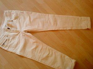 Jeans svasati bianco Cotone