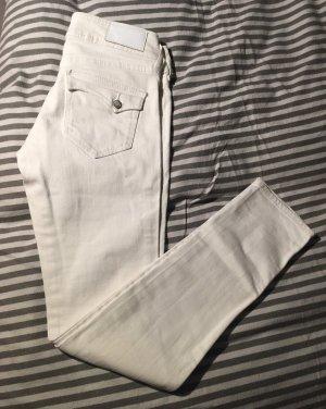 H&M Five-Pocket Trousers white