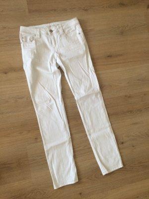 Weiße Jeans Hose straight gerader Schnitt von Orsay in Gr. 38