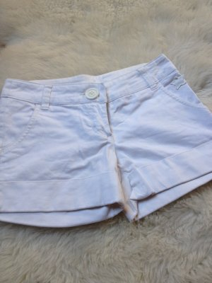 Weiße Jeans Hotpants