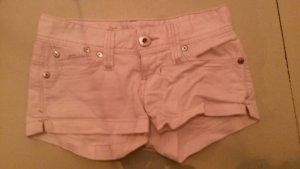 weiße jeans hotpants von guess gr. 25