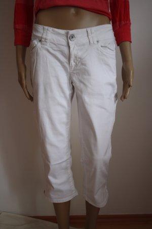 weiße Jeans in 3/4-Länge von Kenvelo