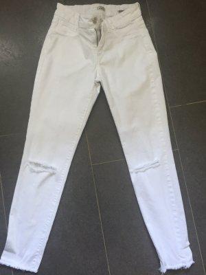 Weiße Jeans in 34 ungetragen