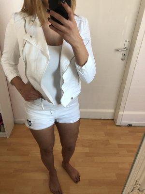 Weiße Jeans Jacke von Zara