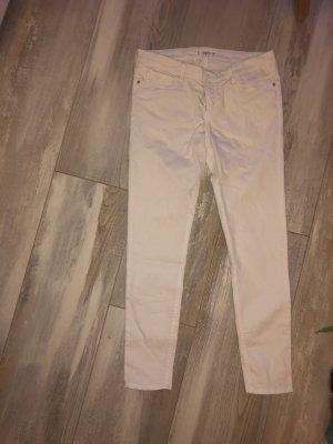 Weiße Jeans Low waist