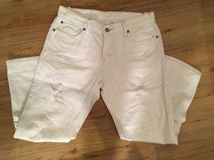 Weiße Jeans mit Löchern von Denim & Supply Ralph Lauren