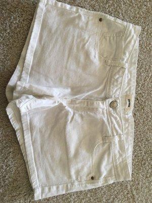 Weiße Jeans Shorts Pimkie