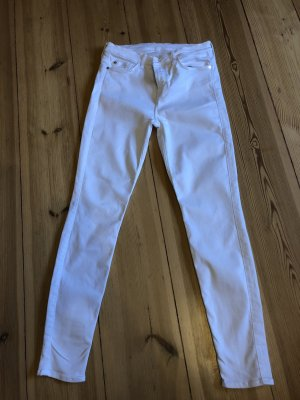 7 For All Mankind Jeans skinny blanc