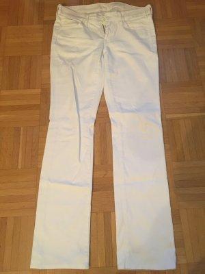 Weiße Jeans von 7 for all Mankind, Größe 28, gerader Schnitt