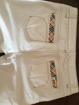 Weiße Jeans von Burberry in Größe 42