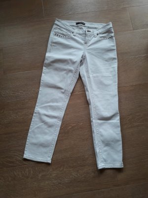 Cambio Jeans a 7/8 bianco