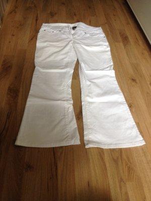 weiße Jeans von Flame