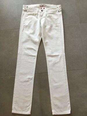 Fornarina Pantalone cinque tasche bianco