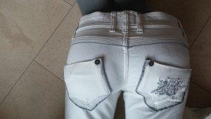 Weiße Jeans von Freeman T. Porter, Gr. 26