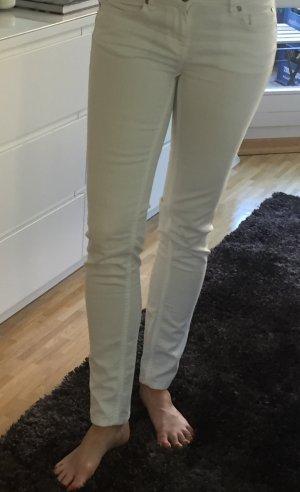 Weiße Jeans von Hallhuber, Gr. 38