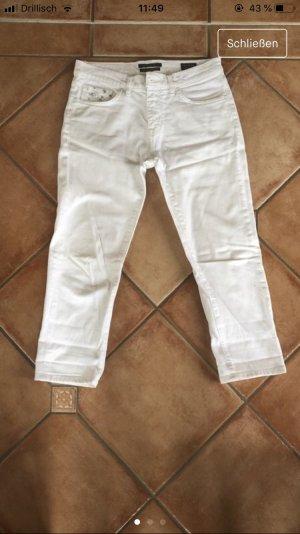 Maison Scotch Jeans a 7/8 bianco