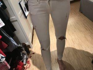 Weiße Jeans von Mango