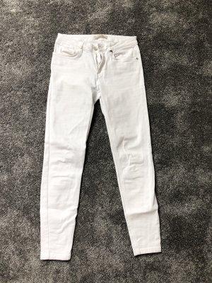 Mango Skinny jeans wit