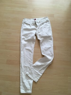 Orsay Jeans coupe-droite blanc cassé