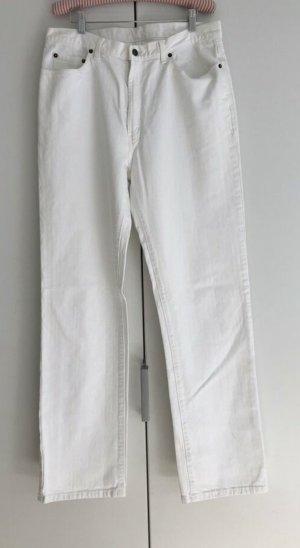 Polo Pantalon 7/8 blanc coton