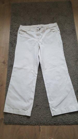 Weiße Jeans von sheego Gr. 50